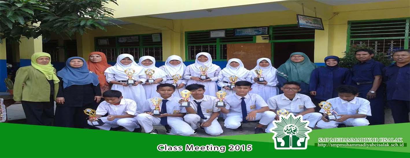 Class Meeting 2015
